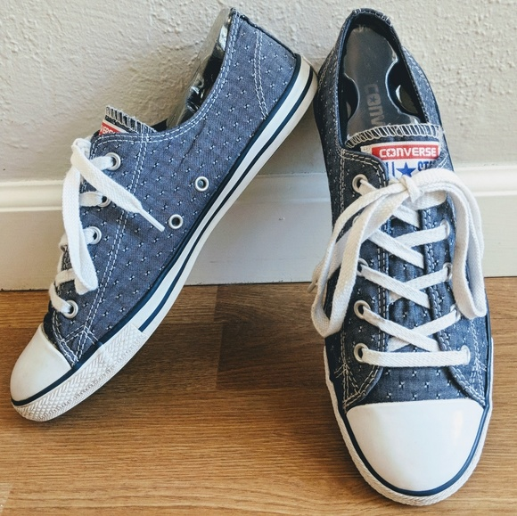 0e7a7aeabe62 Converse Shoes - Converse Chuck Taylor Chambray Dainty Shoes